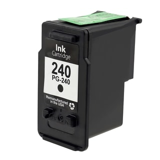 BasAcc Black Remanufactured Ink Cartridge for Canon PG-240