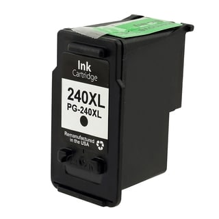 BasAcc Black Remanufactured Ink Cartridge for Canon PG-240XL