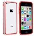 BasAcc Clear/ Red TPU Bumper for Apple� iPhone 5C
