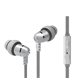 MEElectronics M9P In-Ear Headphone w/ Microphone, Remote, and Universal Volume Control (Pearl, second generation)