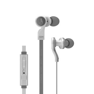 MEElectronics EDM Universe In-Ear Headphones with Headset Functionality and Universal Volume Control (PLUR/White)