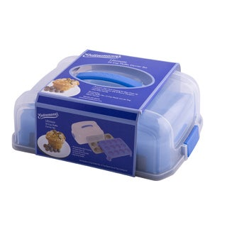 Entenmann's Ultimate Bakeware Series 24-cup Muffin Carrier with Pan