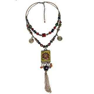 Handcrafted Natural Romantic Necklace (India)