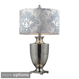 Langham 1-light Chrome Mercury Glass Table Lamp