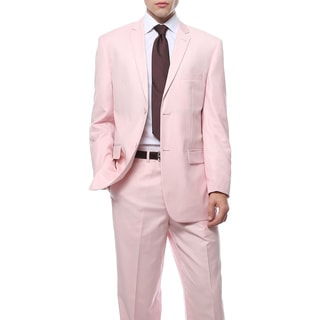 Ferrecci's Two Piece Two Buttom Pink Suit