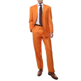 Ferrecci's Two Piece Two Buttom Orange Suit