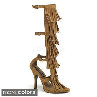 Funtasma Women's 'Indian-257' 4 1/2-inch Stiletto Heel Knee High Sandal
