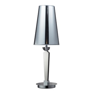 Oxford 1-light Chrome Slim Profile Table Lamp