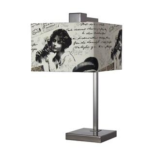 Meade Black Nickel Table Lamp