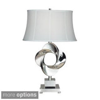 Burnham 1-light Chrome Table Lamp