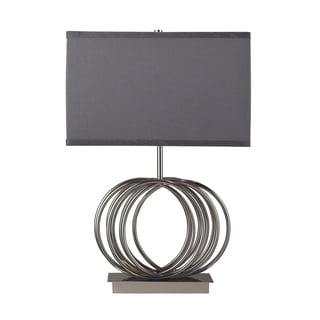 Ekersall 1-light Chrome Table Lamp