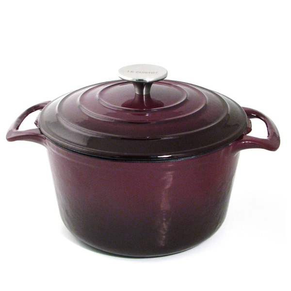 Le Cuistot Vieille France Enameled Cast-Iron Oval Dutch Oven