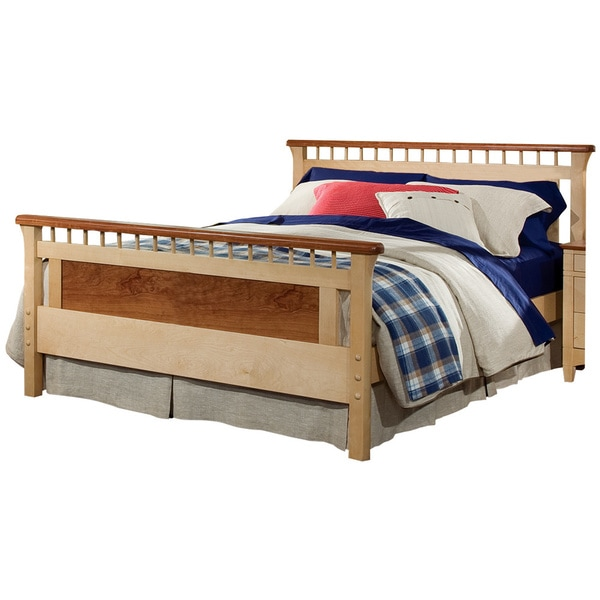 Bolton bennington queen size bed with headboard and footboard for Queen size footboard