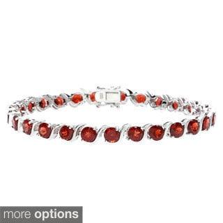 Sofia Sterling Silver and Peridot Bracelet