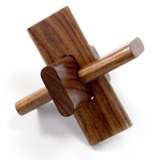 Tri-Piece Wooden Puzzle (India)