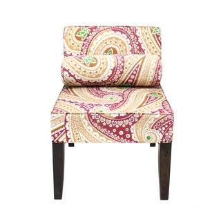 Isabelle Paisley Armless Chair (India)