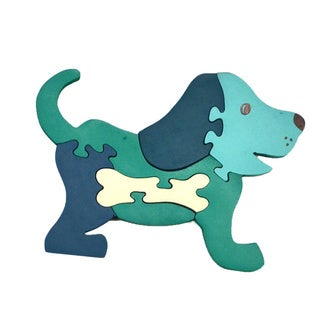 Wooden Puppy Puzzle (India)