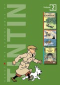 The Adventures of Tintin: Broken Ear, the Black Island, King Ottokar's Sceptre (Hardcover)