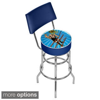 WWE Kids Padded 31-inch Bar Stool with Back