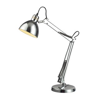Ingelside Chrome Finish Desk Lamp