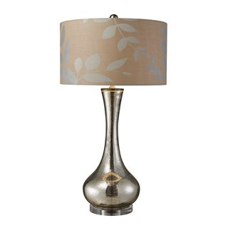 Orion 1-Light Antique Mercury Blown Glass Table Lamp
