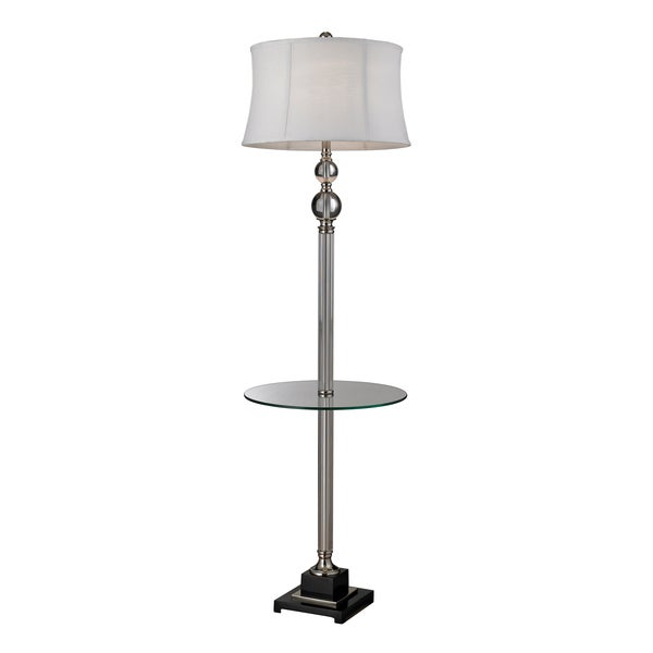 Crystal Floor Lamp/Center Table