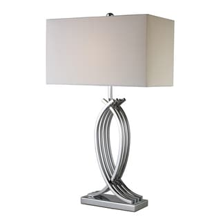 Gransha 1-light Chrome Table Lamp