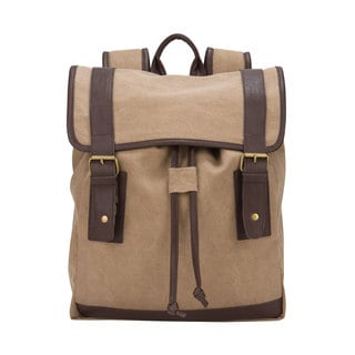 American Casual Collection Canvas 15.4-inch Laptop Computer Backpack
