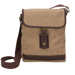 American Casual Collection Small Canvas Field Messenger Bag