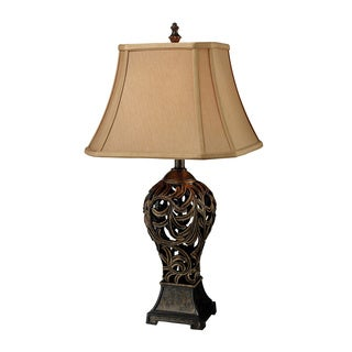 Trump Home Allegra 1-light Buthan Bronze Table Lamp