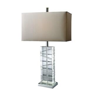 Avalon Crystal and Chrome Table Lamp