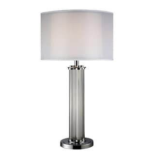 Hallstead Chrome Table Lamp