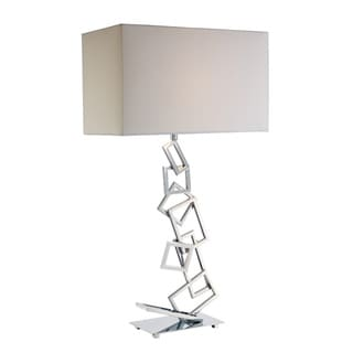 Warren 1-light Chrome Table Lamp