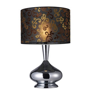 Dimond 1-light Chrome Table Lamp