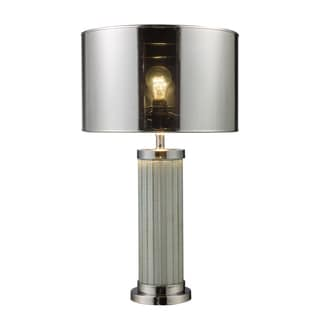 Mont Alto 1-light Mirror and Chrome Table Lamp