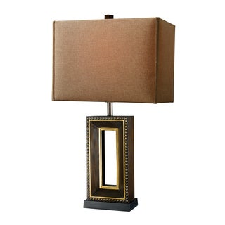 Winston 1-Light Tanager Finish Transitonal Table Lamp