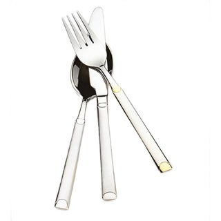 Lea-Gold 84-Piece Stainless Steel Flatware Set