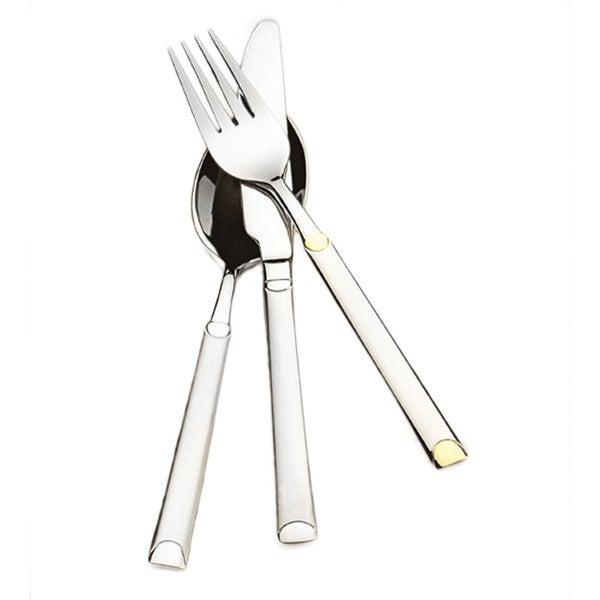 Lea-Gold 84-Piece Stainless Steel Flatware Set