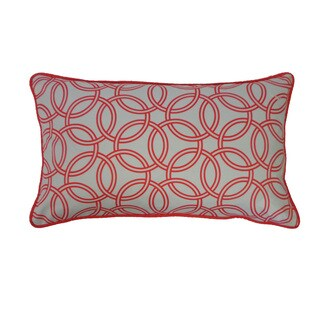12 x 20-inch Coral Crusade Throw Pillow