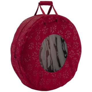 Seasons Wreath Large Storage Bag