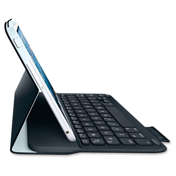 Logitech Ultrathin Keyboard/Cover Case (Folio) for iPad mini - Gray