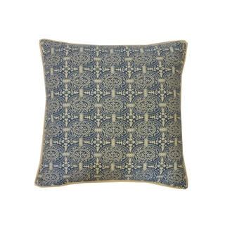 20 x 20-inch Stamp Throw Pillow