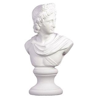 White Cement Man Statue