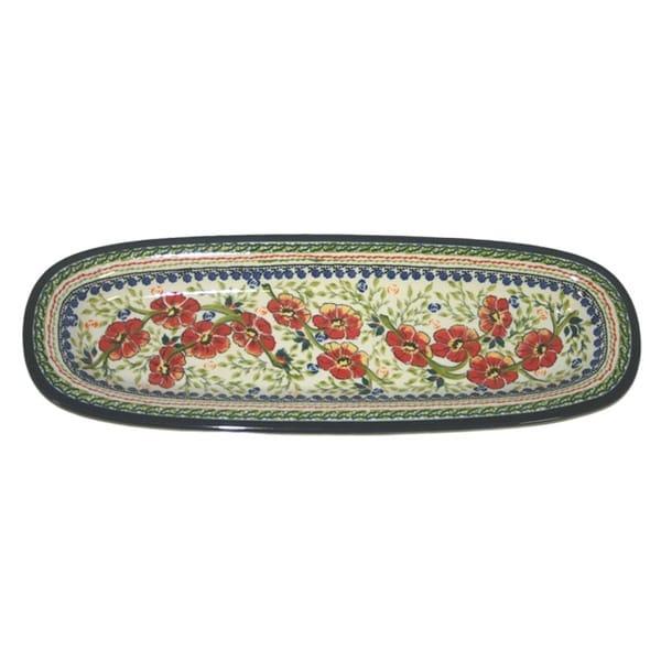 Long Thin Oval Platter Serving Dish (Poland)