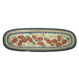 Long Thin Oval Platter Serving Dish (Poland)