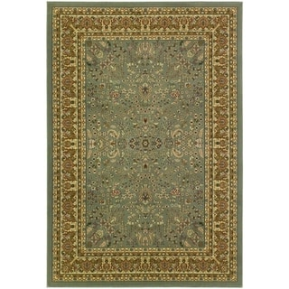 Izmir Floral Mashhad/ Grey Area Rug (3'11 x 5'3)