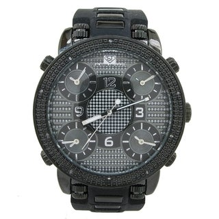 'Super Techno' Men's Diamond Watch