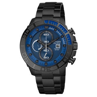 Citizen Men's CA0525-50L Black Titanium Chronograph Watch