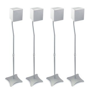 Mount-It! Universal High Quality Speaker Stands for Surround Sound (Set of 4)