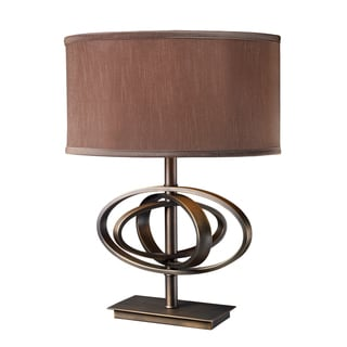 Jordan 1-Light Oil Rubbed Bronze Table Lamp